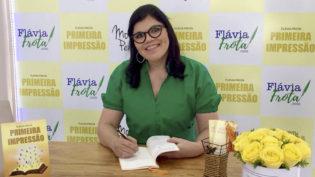 Flávia Frota leva literatura e tecnologia para Colóquio Literário