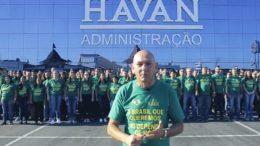 """Luciano Hang divulgou vídeo em que diz """"você está preparado para ganhar a conta da Havan?"""" (Foto: Divulgação)"""