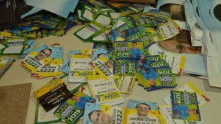 TRE encontra caixa com material de campanha na sede do Dnit em Manaus