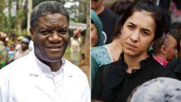 Denis Mukwege e Nadia Murad, que lutam contra a violência sexual receberam o Nobel da Paz (Foto: YouTube/Reprodução)