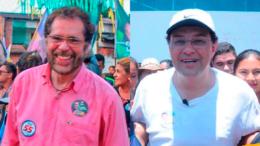 Plínio Valério e Eduardo Braga