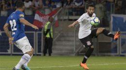 Cruzeiro dominou o Corinthians, que precisa vencer no Itaquerão (Foto: Daniel Augusto Jr/Agência Corinthians)