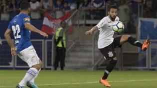Corinthians perde do Cruzeiro no primeiro jogo da final da Copa do Brasil