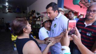 """'O Amazonas não pode ser administrado de casa ou de gabinetes"""", diz Wilson Lima"""