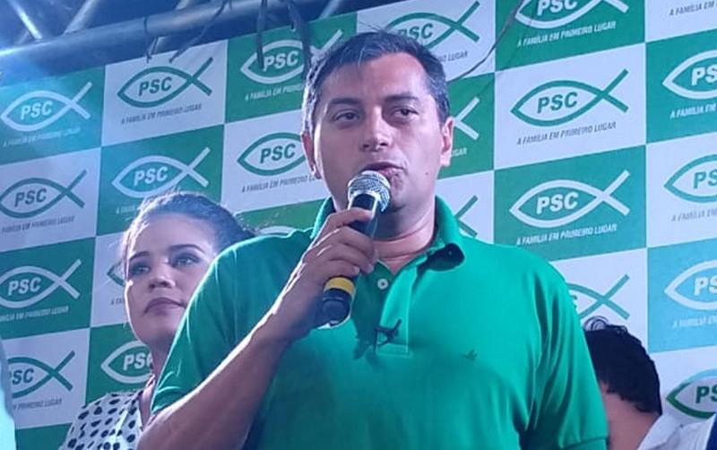 Wilson Lima obteve mais de um milhão de votos para governador no segundo turno (Foto: Felipe Campinas/ATUAL)