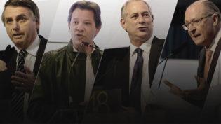 Eleitores de Ciro migram para Haddad e de Alckmin para Bolsonaro, diz pesquisa