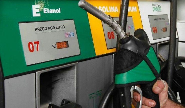 Na média dos postos brasileiros pesquisados pela ANP, o etanol teve alta de 1,20% (Foto: Divulgação)