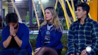 Sandro, Sertanejo e Nadja formam segunda roça em 'A Fazenda'