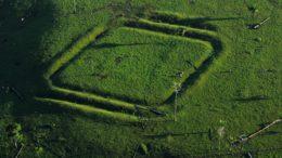 Geoglifo no sítio arqueológico Jacó Sá é o primeiro no País a ser tombado como patrimônio cultural (Foto: Iphan/Divulgação)