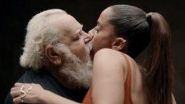Anitta beija 24 pessoas durante clip 'Não perco Meu Tempo' (Foto: Youtube/Reprodução)
