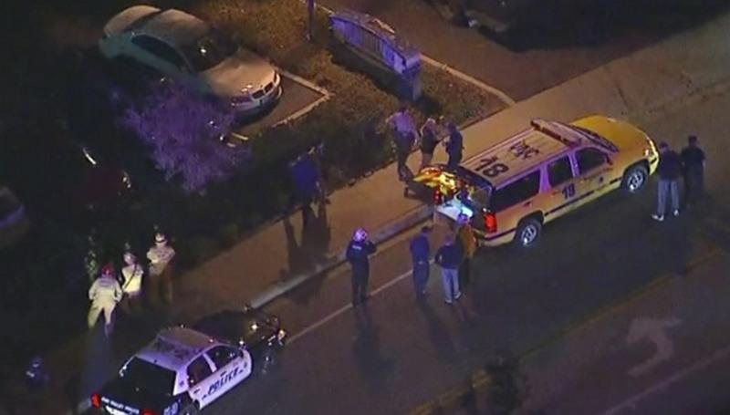 Atirador atacou estudantes universitários durante festa. Ao menos 30 tiros foram disparados (Foto: CNN/Reprodução)