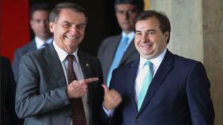 Bolsonaro sinaliza possível parceria com DEM no novo governo