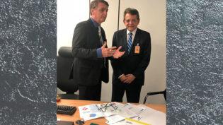 Pauderney e Bolsonaro se encontram para discutir a Zona Franca de Manaus