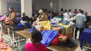 Médico define como 'amontoação' de pacientes as internações no Hospital 28 de Agosto