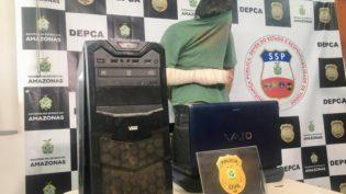 Suspeito de pedofilia em Manaus é localizado pelo IP e confessa uso de imagens