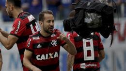 Éverton Ribeiro marcou dois golaços em triunfo sobre o Cruzeiro, mas Palmeiras foi o campeão (Foto: Staff Images/Flamengo)
