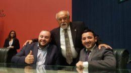 Fausto Junior, Belarmino Lins e Carlinhos Bessa