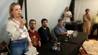 Liberdade de Lula não será por saída jurídica, mas por luta política, diz Gleisi