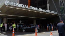 Presidente eleito Jair Bolsonaro foi atendido no Hospital israelita, em São Paulo (Foto: Rovena Rosa/ABr)