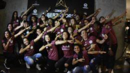 Time do Iranduba foi o anfitrião no sorteio dos grupos da Copa Libertadores Feminina (Foto: Mauro Neto/Sejel)