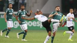 Palmeiras dominou o América-MG, goleou e ficou mais próximo de conquistar o décimo título do Brasileirão (Foto: Cesar Greco/Ag. Palmeiras)