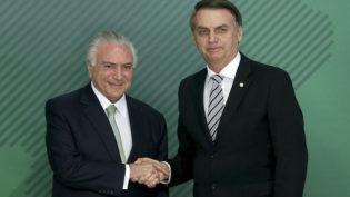 """Bolsonaro diz que Temer """"sabe o que fazer"""" sobre aumento para o STF"""