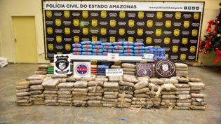 Polícia apreende carga com 300 quilos de droga em Manacapuru