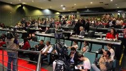 Deputados estaduais aprovaram lei nessa sexta-feira de combate à corrupção (Foto: ALE/Divulgação)
