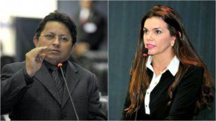Deputada Alessandra pede a colega que elogie sua competência e não a beleza