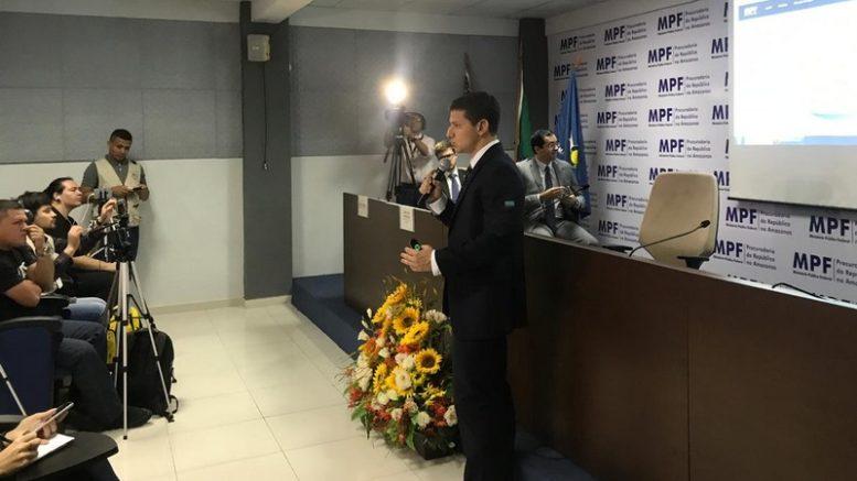 Procurador Alexandre Jabur apresentou balanço da Operação Maus Caminhos (Foto: ATUAL)