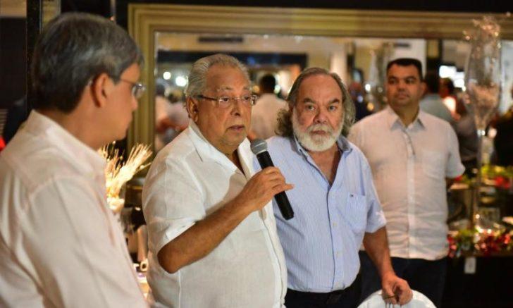 Amazonino Mendes e Thome Mestrinho
