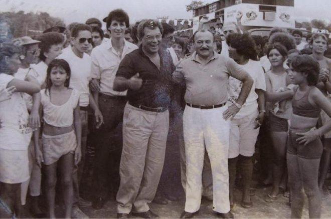 Amazonino Mendes e Gilberto Mestrinho