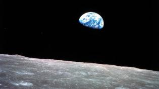 Missão Apollo 8 na órbita da Lua completa 50 anos desde seu icônico registro em foto