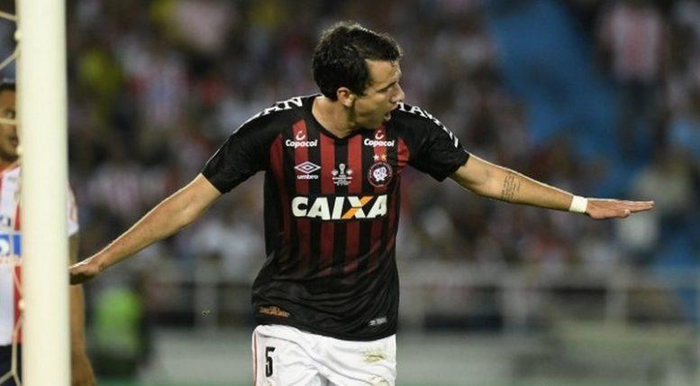 Pablo marcou o gol de empate que garantiu igualdade de condições para decisão da Sul-Americana (Foto: Miguel Locatelli/Site Oficial)
