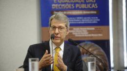 Carlos Ari Sundfeld critica o Estado mínimo defendido pelo futuro ministro da Economia 'É uma visão muito radical' (Foto: Marcos Oliveira/Agência Senado)