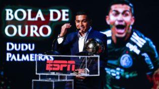 Atacante do Palmeiras é eleito o craque do Campeonato Brasileiro