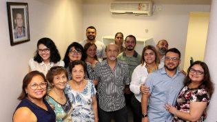 Wilker Barreto reinaugura sala de imprensa 'jornalista Chico Pacífico'