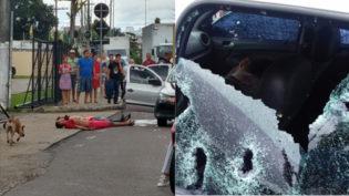 Três são mortos ao trocar tiros com a polícia durante fuga em Manaus