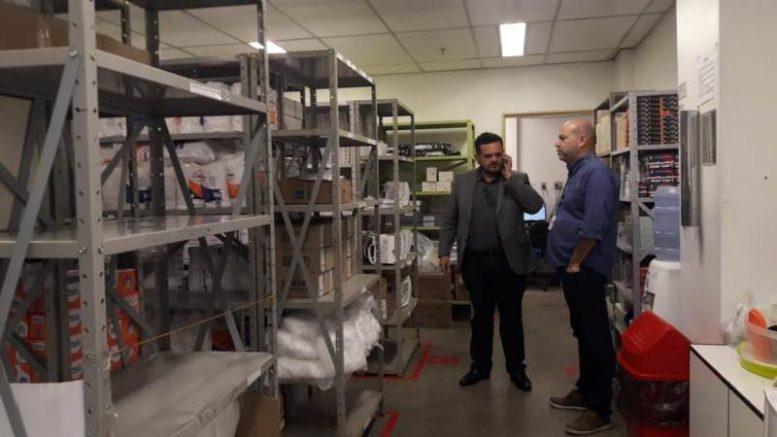 DPE faz inspeção na Fundação cecon