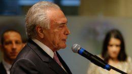 Presidente Michel Temer disse que seu governo será lembrado no futuro (Foto: Cesar Itiberê/PR/ABr)