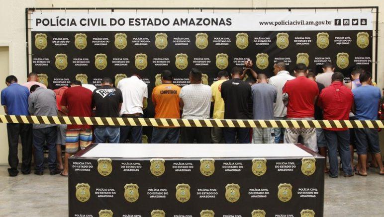 Presos por dívida de pensão - Foto Lana Honorato-PC-AM-Divulgação