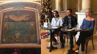 SEC e Iphan assinam convênio para restaurar Pano de Boca do Teatro Amazonas
