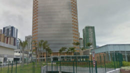 Desvio de dinheiro envolve a construção do conjunto Torre Pituba, sede da Petrobras na Bahia (Foto: Google Maps/Reprodução)