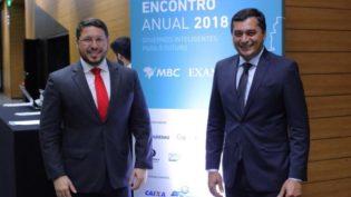 Wilson Lima fala de déficit de R$ 1,5 bilhão em evento em São Paulo