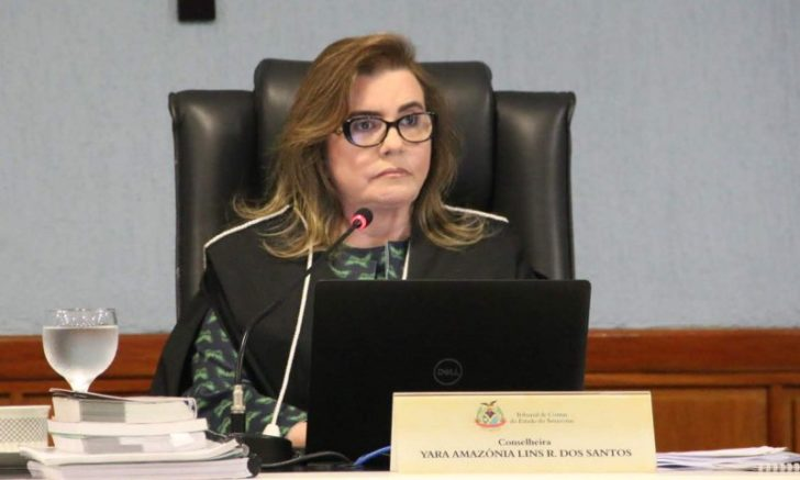 Yara Lins, conselheira presidente do TCE-AM