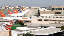 Congonhas é um dos aeroportos de estão no projeto de venda (Foto: Valter Campanato/Agência Brasil