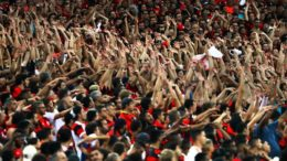 Libertadores da América 2017: Flamengo x San Lorenzo, no Estádio do Maracanã (Foto: Gilvan de Souza/Fotos Públicas)