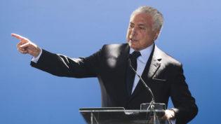 Temer minimiza posição de Bolsonaro e pede e integração do Mercosul