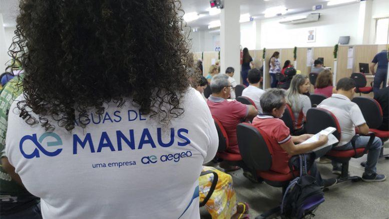 Águas de Manaus atendimento