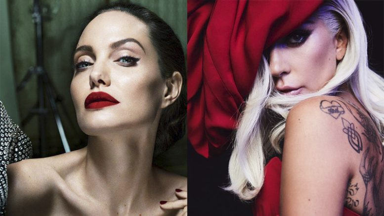 Angelina Jolie e Lady Gaga - Cleópatra